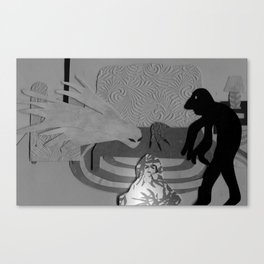 The Creeps Canvas Print