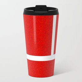"""""""IN"""" – Hawk-Eye - Sand Travel Mug"""