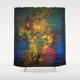 Be the water to the fire Shower Curtain