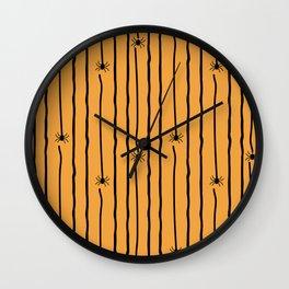 creepy crawlies Wall Clock