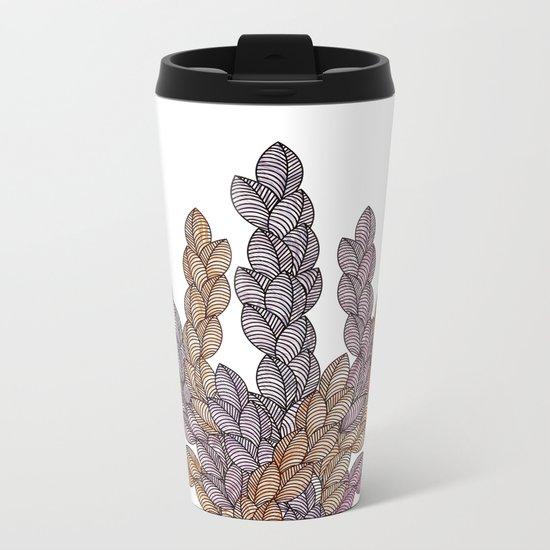 Leaf 13 Metal Travel Mug