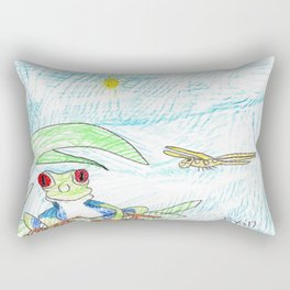 Ambush Hunters Rectangular Pillow