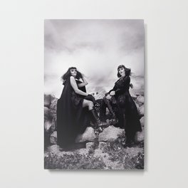 Black Witches Sabbath II  Metal Print