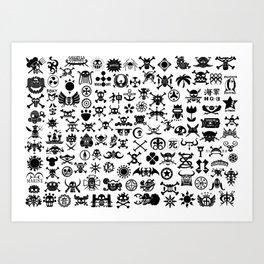 One Piece Jolly Roger Art Print