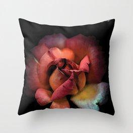 Rose qui se fane colors fashion Jacob's Paris Throw Pillow