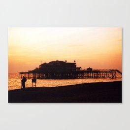 West Pier, Brighton, UK Canvas Print