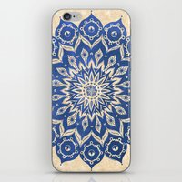 life iPhone & iPod Skins featuring ókshirahm sky mandala by Peter Patrick Barreda