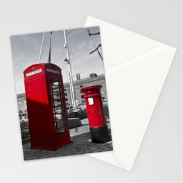 Phone and Post Boxes Stationery Cards