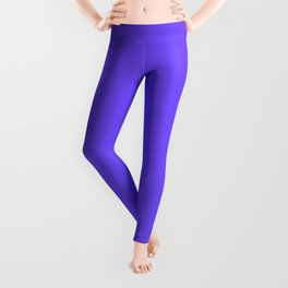 Periwinkle Orchid : Solid Color Leggings