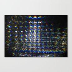 Reflection of a Reflection of a Reflection Canvas Print