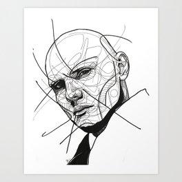 Billy Corgan Art Print