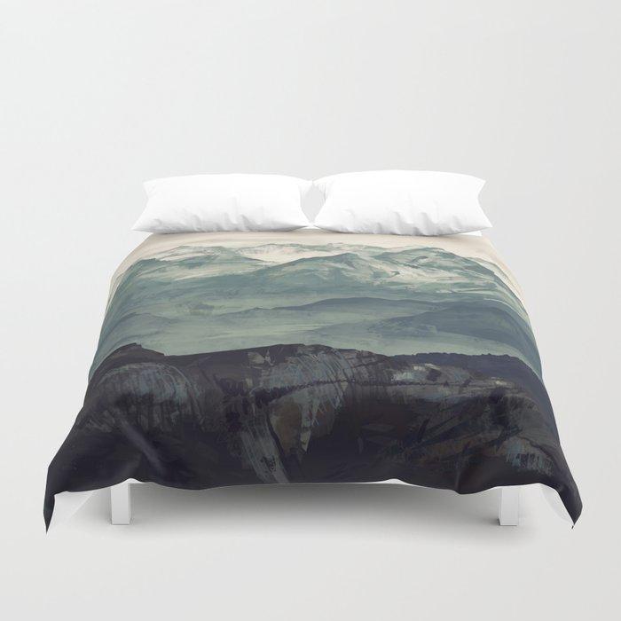 Mountain Fog Bettbezug