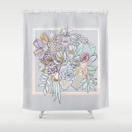 Bouquet 2 Shower Curtain