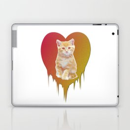 Cat in your heart Laptop & iPad Skin