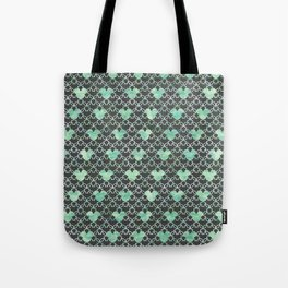 Mouse Ears Watercolor - Jasmine Mint Tote Bag