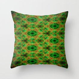 Concave Stature Pattern 4 Throw Pillow