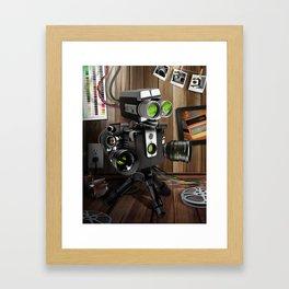 FilmBot Framed Art Print