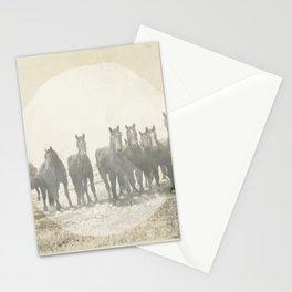 Band of Horses - White Stationery Cards