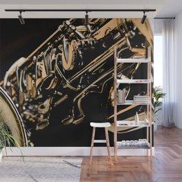 Musical Gold Wall Mural