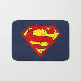 Super Man's Splash Bath Mat