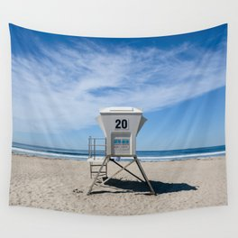 California Beach Day II Wall Tapestry