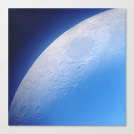 Moon at Dusk Canvas Print