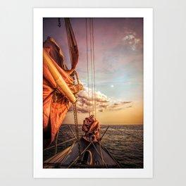 Sail on Spirit of Buffalo Art Print