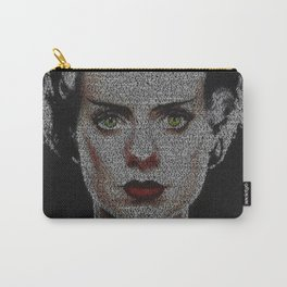 The Bride of Frankenstein Screenplay Print Carry-All Pouch