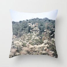 Buckwheat Afternoon Throw Pillow