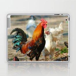 Cock a Doodle Doo! Laptop & iPad Skin