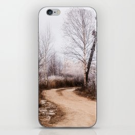 Winer in the country iPhone Skin