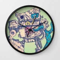 Helplessness Demon Wall Clock
