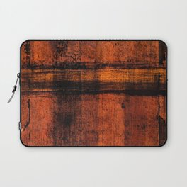 Pathway (Rust Abstract) Laptop Sleeve