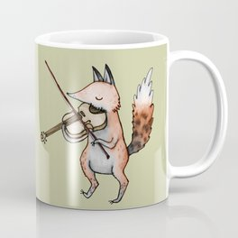 Violin Fox Coffee Mug