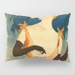 Yvette Guilbert 1891 By Jules Cheret | Reproduction Art Nouveau Pillow Sham