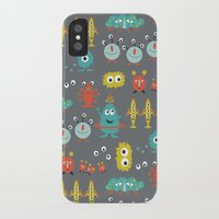aliens iPhone & iPod Cases featuring Aliens by Jill Byers