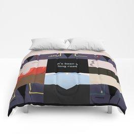 It's been a long road - square - Star Trek: Enterprise ENT - startrek Trektangle minimalist  Comforters