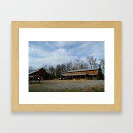 Compass Rose Farm Framed Art Print