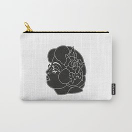 Traditional Woman Tattoo Carry-All Pouch