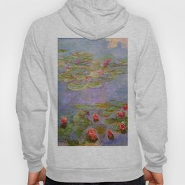 "Claude Monet ""Red Water Lilies"", 1919 Hoody"
