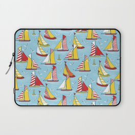 seagulls and sails Laptop Sleeve