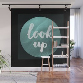 look up Wall Mural