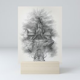 Sovngarde Hall of Valor from Skyrim Mini Art Print