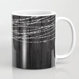 Fairy Lights on Wood 01 Coffee Mug