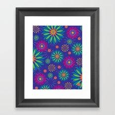Psychoflower Violet Framed Art Print
