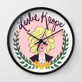 Knope We Can! Wall Clock