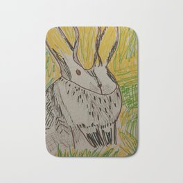 Mr. Jakalope Bath Mat