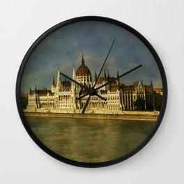 Parlament Budapest Wall Clock