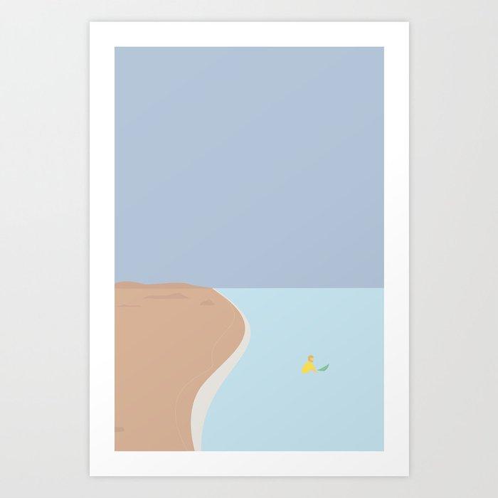 FORNØJELSE SURF Nr.02 Art Print