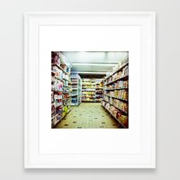 shopping Framed Art Prints featuring Shopping by jmdphoto